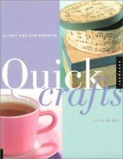 Quick Crafts: 30 Fast and Fun Projects-ExLibrary