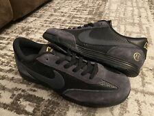 SAMPLE Nike SB x FC Lunar FTC Shoes Black Anthracite Gold SZ 10.5 921610-007