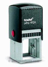 Trodat Printy 4924 Self Inking Rubber Text Stamp 36x36mm ( up to 11 Lines  )