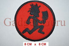 ICP Insane Clown Posse Running Man Embroidery iron on/sew on patch {1147}