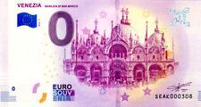 ITALIE Venezia, Basilica di San Marino, 2018, Billet 0 € Souvenir