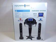 Singing Machine Classic ISM1050BT With Bluetooth Pedestal Karaoke System