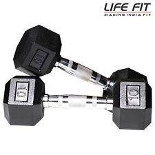 LIFE FIT Home Gym DM-Hexa-Combo Dumbbells Kits (10)