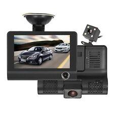 NUOVO HD 1080P auto DVR Dash Cam DOPPIA LENTE VIDEOCAMERA POSTERIORE VIDEO REGISTRATORE G-Sensor