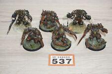 Warhammer 40k Forgeworld Nurgle Death Guard Terminators x 6 LOT 537