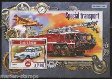 SIERRA LEONE 2015 SPECIAL TRANSPORT SOUVENIR SHEET  MINT NH