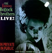 The Famous Bollock Brothers - In Private In Public (Live!) LP 1986 '