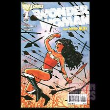 WONDER WOMAN #1 New 52 Azzarello & Chiang 2011 New 52 DC Comics 1ST Print NM!