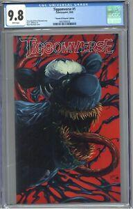 Tiggomverse #1 CGC 9.8 Venom #25 Rapoza Edition 1:25 Ratio Version Mychaels