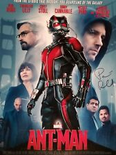 Paul Rudd Ant Man Signed Movie Poster Photo 16x20 Celebrity Authentics MARVEL