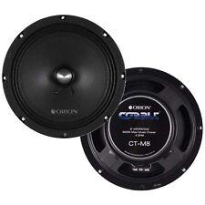 "NEW Orion CTM8 Cobalt 8"" Midrange Speakers 900 Watts, Pair"