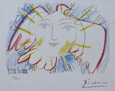 PABLO PICASSO Visage de la Paix 50 XIX HAND NUMBERED 659/2000 signed LITHOGRAPH