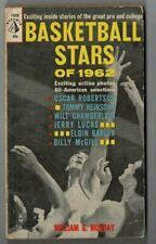 BASKETBALL STARS OF 1962 paperback