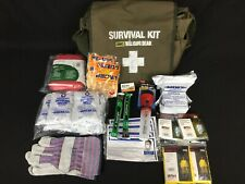 Walking Dead Zombie Survival Kit with Military Messenger Bag Complete w/ Items
