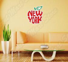 "New York Big Apple City State I Love NY Wall Sticker Room Interior Decor 20""X25"""