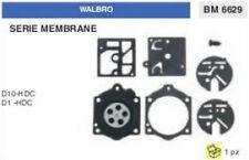 KIT SERIE MEMBRANE membrana CARBURATORE WALBRO D10-HDC D 10 HDC