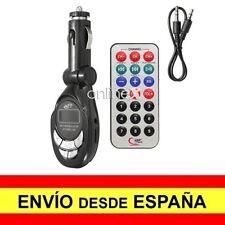 Transmisor FM MP3 Mechero Coche Radio Música Tarjeta SD Micro SD TF USB a2917