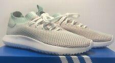 Adidas Mens Sz 10 Tubular Shadow Primeknit White Ash Green Scarlet Shoes AC8796