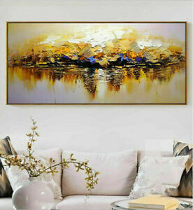 """YA459 Home decor 100% hand-painted Abstract Scenery oil painting on canvas 48"""""""