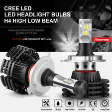 2018 NEW H4 9003 HB2 1200W 180000LM CREE LED Headlight Kit Hi/Lo Beam Bulb 6500K