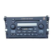 2002-2003 Acura TL AM FM 6 Disc CD Player Radio OEM