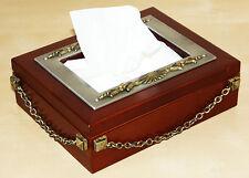 NEW Wooden Tissue Box/ Holder/ Napkin Tissue/ Kleenex Dispenser