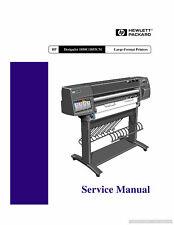 HP DesignJet 1050C/1055CM Printer Service Manual