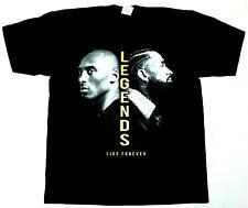 LEGENDS LIVE FOREVER T-shirt Kobe Bryant Nipsey Hussle Tee Men's 100%Cotton New