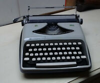 Remington Premier Portable Mechanical Typewriter