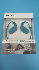 Sony NW-WS413 nw-ws413 WaterProof 4GB Digital Music Sports MP3 Player (Blue)