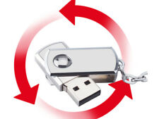 Flash Drive Memory Stick Storage 128GB Swivel USB 2.0  Silver