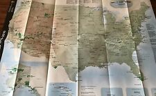 New US NPS NATIONAL PARK SERVICE CENTENNIAL BROCHURE MAP Unigrid  1916 - 2016