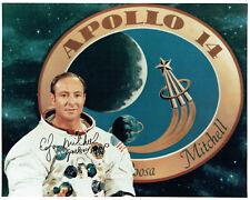 More details for edgar ed mitchell apollo 14 lmp astronaut signed autograph photo 5 coa aftal