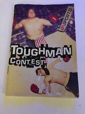 Toughman Contest Sega Genesis Manual Only Authentic Original Good Condition