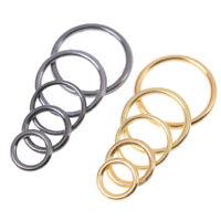 100PCS metal bra strap adjuster slider/hooks/O ring lingerie sewing cr WF