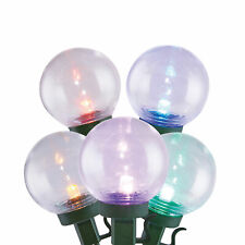 Home Heritage Outdoor Christmas 300 LED Bulb String Light, Clear & Multicolored