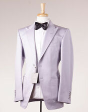 NWT $5800 TOM FORD Silvery Lavender Superfine Linen Suit 38 R + Hanger (Eu 48)