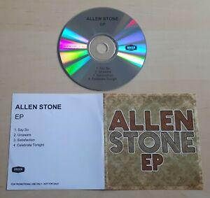 ALLEN STONE S/T EP 2012 UK 4-track promo test CD