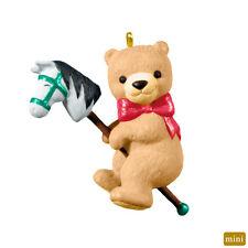 Hallmark Keepsake Yuletide Ride Christmas Ornament 2012 Teddy Bear on Pony NEW