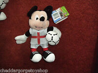 official Disney's Mickey mouse football soft toy 9 inches tall (BNWT)