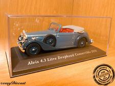 ALVIS 4.3 LITRE DROPHEAD CONVERTIBLE 1938 1:43 MINT