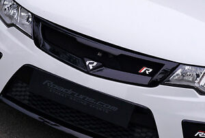 Clear White UD New Front Radiator Grill PAINTED For 08 12 Kia Forte & Forte Koup