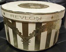 Revlon Hat Box, Vintage, 1950's!