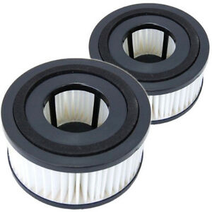 2-Pack HQRP Washable & Reusable Filters for Dirt Devil Easy Lite Quick UD40230