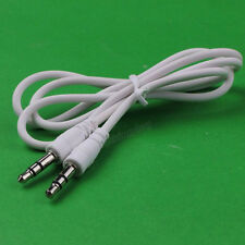 100pcs new 3.5mm Male to 3.5mm Male Audio Cable for iPod/Mp3/Nano/Speaker
