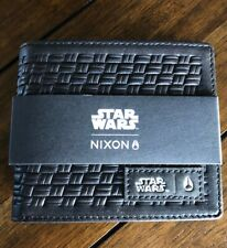 NIXON STAR WARS KYLO BLACK LEATHER SHOWOFF WALLET SW BRAND NEW LIMITED EDITION