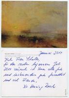 59074 - William Turner: Der Morgen nach dem Schiffbruch - alte Ansichtskarte