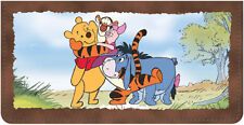 Winnie the Pooh Adventures Leather Checkbook Cover