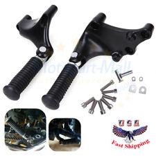 Black Rear Passenger Foot Peg& Mount Harley 48 Iron Sportster 883 1200 2014-2018