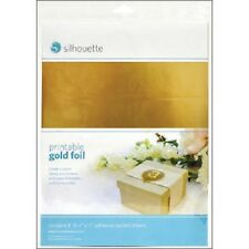 Printable Gold Foil Silhouette Labels Cut With Your Die Cutting Machine Cameo